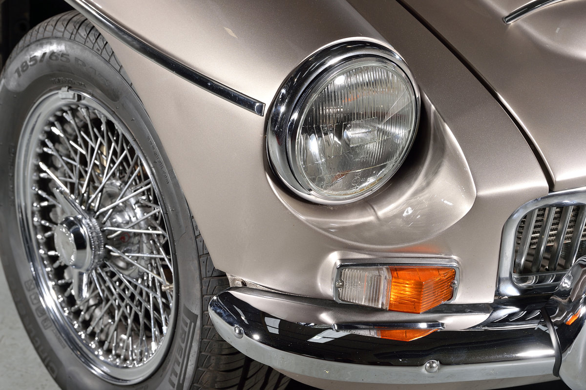 1968 Outstanding MGC GT recently restored SOLD (picture 6 of 6)