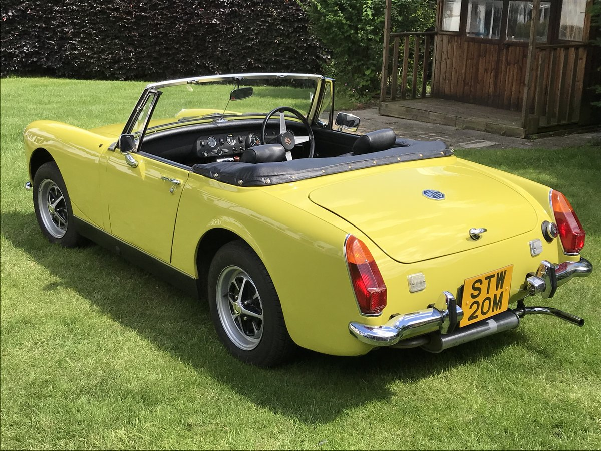 1974 MG Midget (RWA) For Sale (picture 3 of 6)