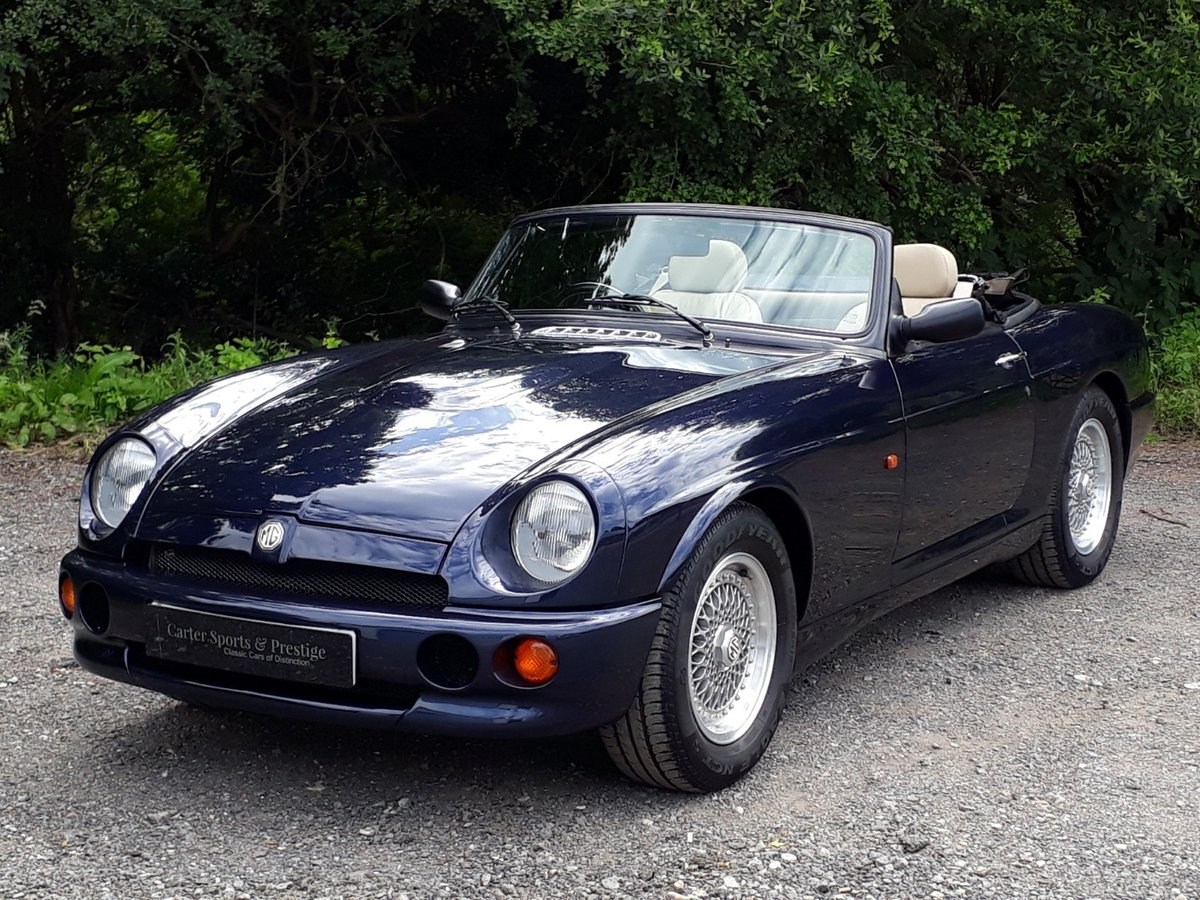 1995 IMPECCABLE 25,000 MILE MG RV8 £19,950 For Sale (picture 1 of 6)