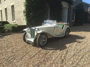 1947 MG TC completely rebuilt  For Sale