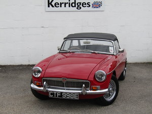1967 MGB Roadster in Tartan Red (Heritage shell) For Sale