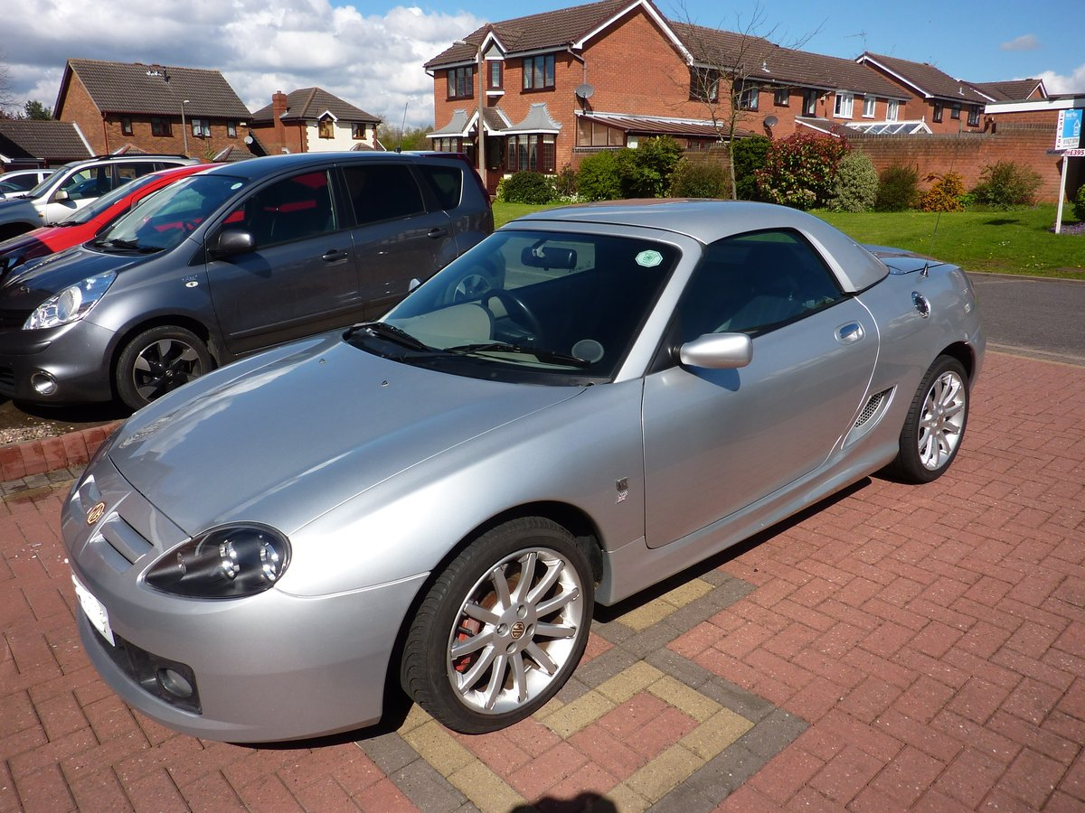 2004 MG TF Sunstorm Show Car SOLD (picture 1 of 6)