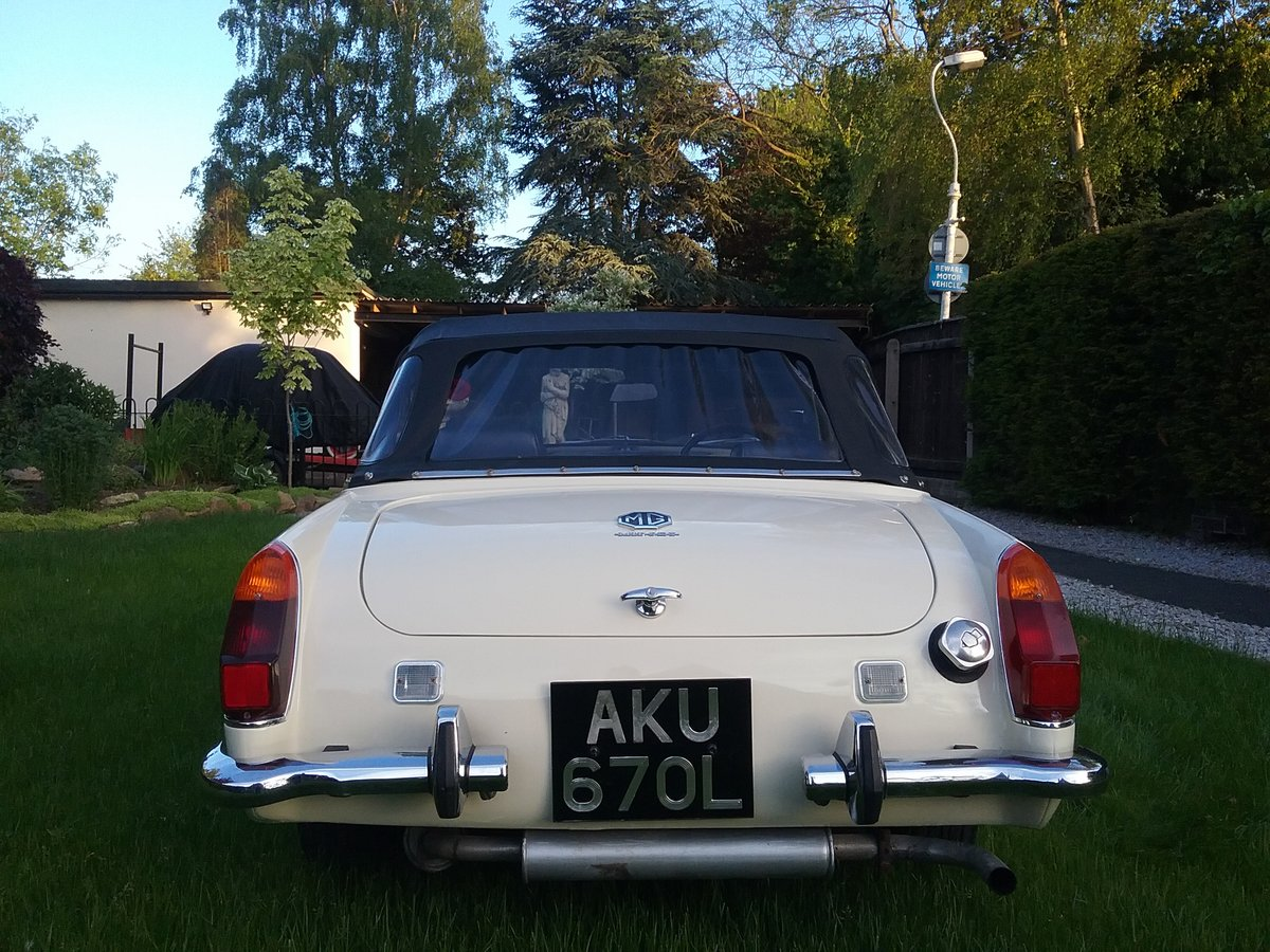 1972 MG Midget  For Sale (picture 5 of 6)