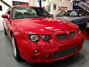 2001 MG ZT 2.5 V6 160+ Sports Saloon - Very Low Miles 47K  For Sale