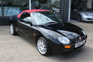 1999  MGF 75TH ANNIVERSARY,NEW HOOD,HARDTOP,NEW HEADGASKET