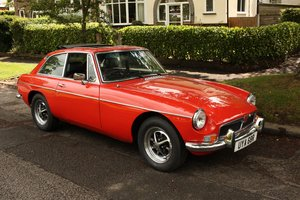 1977 MGB GT - Restored, Chrome Bumper Converted MGBGT MG BGT SOLD
