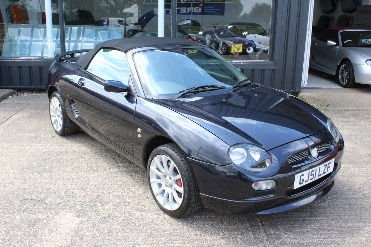 2001 MGF TROPHY 160,ONLY 28000 MLS,NEW HEADGASKET,BELT&PUMP For Sale (picture 1 of 6)