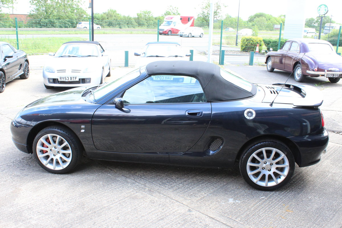 2001 MGF TROPHY 160,ONLY 28000 MLS,NEW HEADGASKET,BELT&PUMP For Sale (picture 4 of 6)