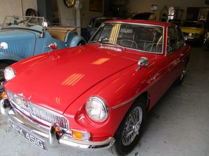 1969 MG B GT - Great Example For Sale