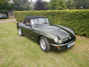 1995 MG RV8 -12000 miles from new - Woodcote green For Sale