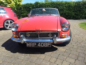 MGB 1967 Roadster For Sale