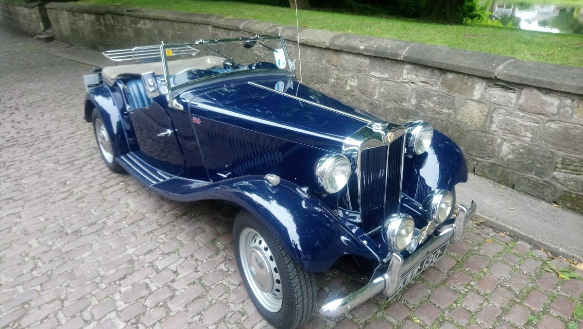 MG TD 1951 Time Warp Classic SOLD (picture 1 of 6)