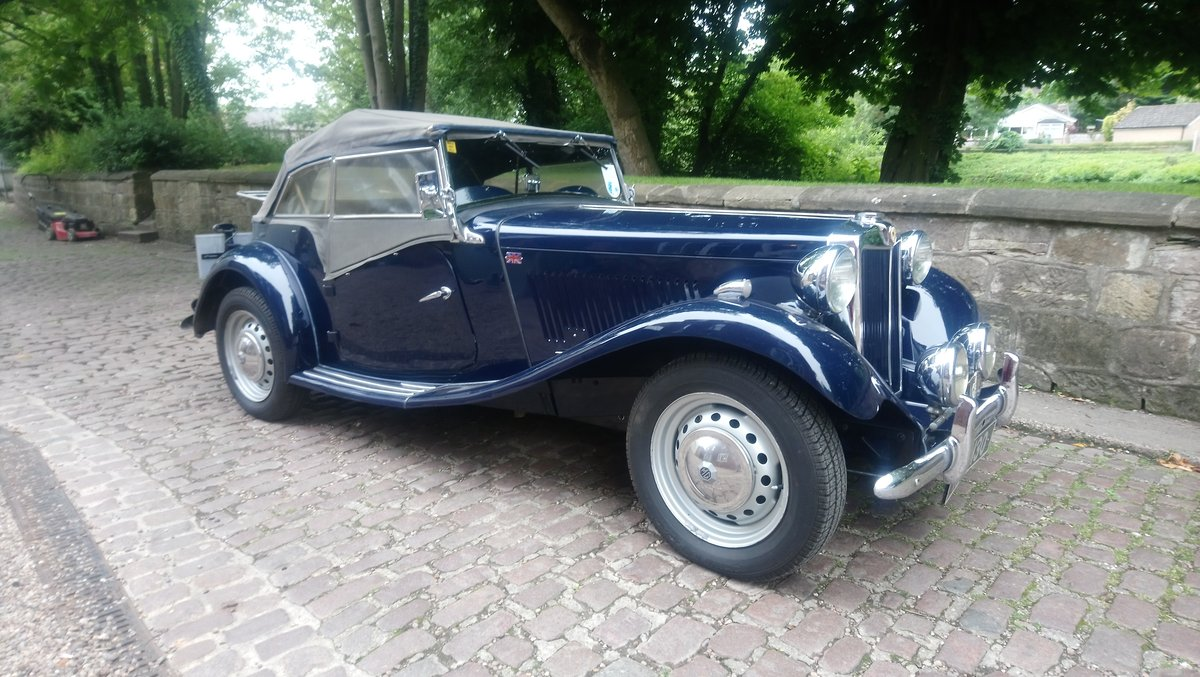 MG TD 1951 Time Warp Classic SOLD (picture 4 of 6)
