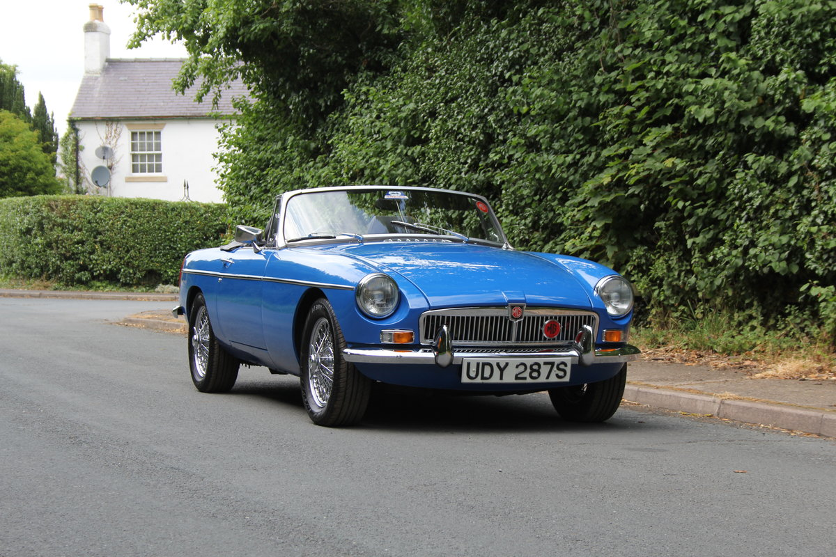 1977 MGB Roadster - 7100 miles from new! SOLD (picture 1 of 12)