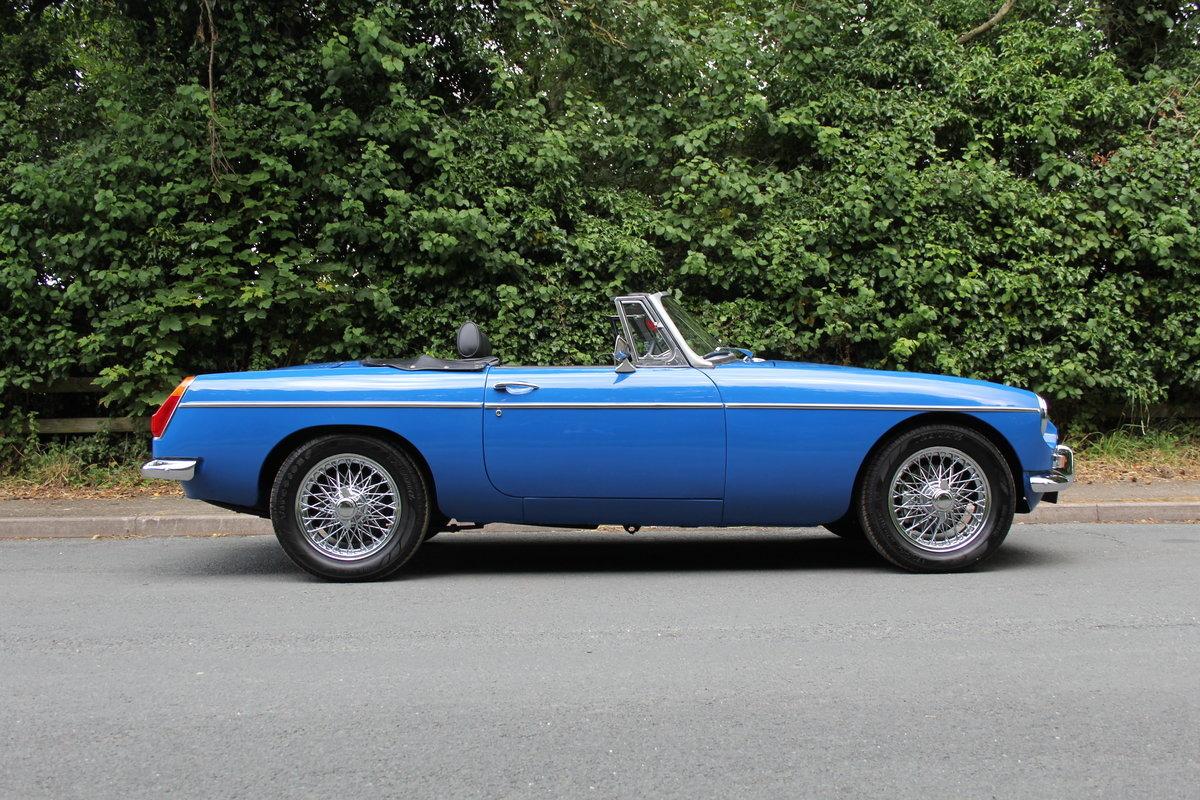 1977 MGB Roadster - 7100 miles from new! SOLD (picture 6 of 12)