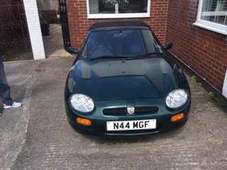1996 MGF 1.8 VVC - Original Number Plate - British Racing Green  For Sale