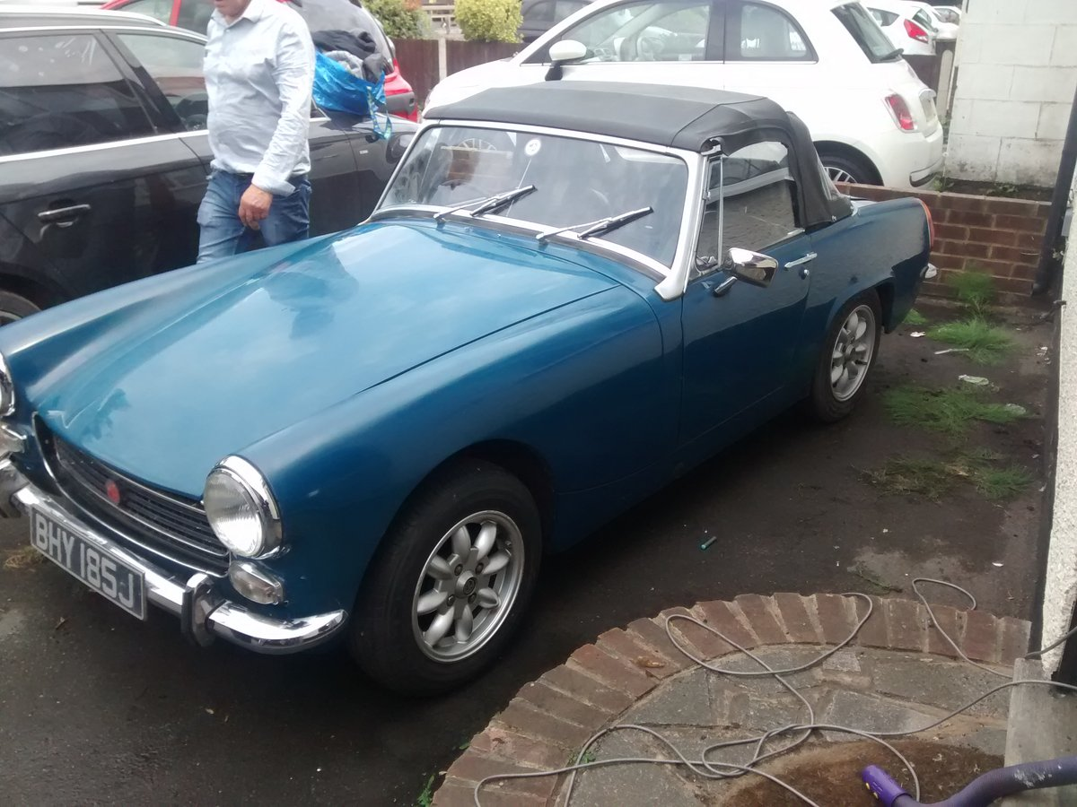 MG Midget - 1971 - 1275cc For Sale (picture 1 of 6)
