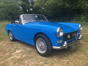 1978 Mg midget 1500 chrome bumper conversion