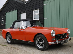 1972 MG MIDGET 1275CC RWA - OUTSTANDING, RESTORED, UPGRADED CAR!!