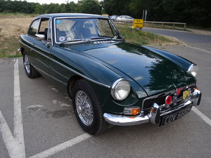 MGB GT 1973 British Racing Green OverDrive poss PX For Sale