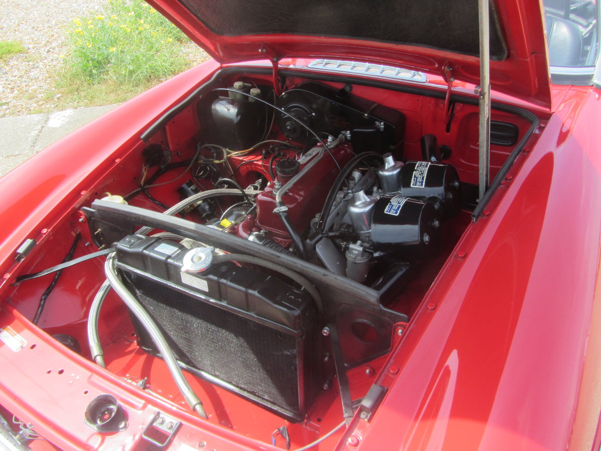 1969 MGB Roadster with Heritage Shell and Rebuilt Engine  SOLD (picture 4 of 6)