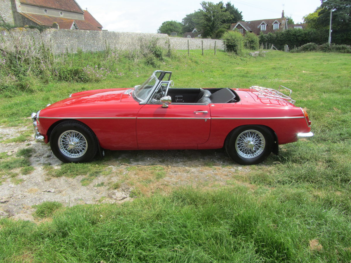1969 MGB Roadster with Heritage Shell and Rebuilt Engine  SOLD (picture 6 of 6)