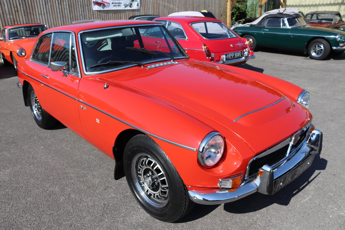 1975 MGB GT V8 FACTORY CAR SOLD (picture 1 of 6)