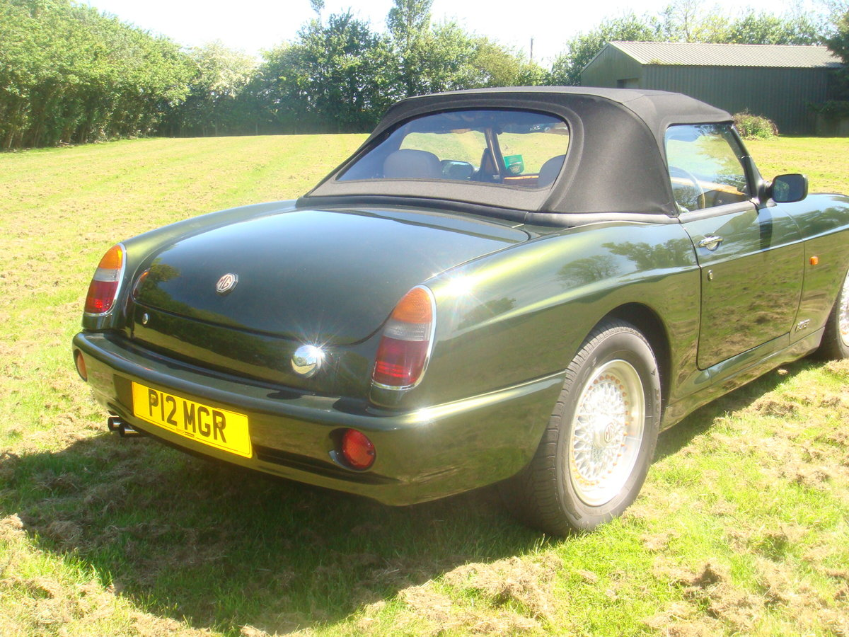 MG RV8 1995 Convertible incl Coach Trimmer fitted New Hood For Sale (picture 5 of 6)