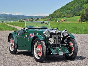 1934 MG PAB Le Mans  For Sale by Auction