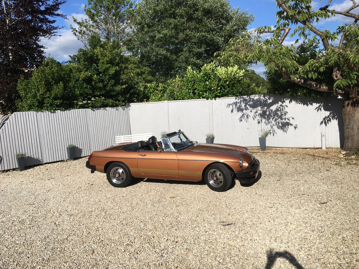 1981 MGB LE ROADSTER SOLD (picture 6 of 6)