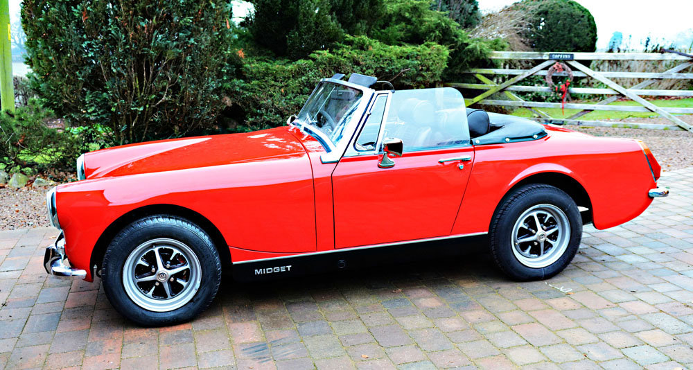 MG MIDGET MK3 1275cc For Sale (picture 1 of 6)