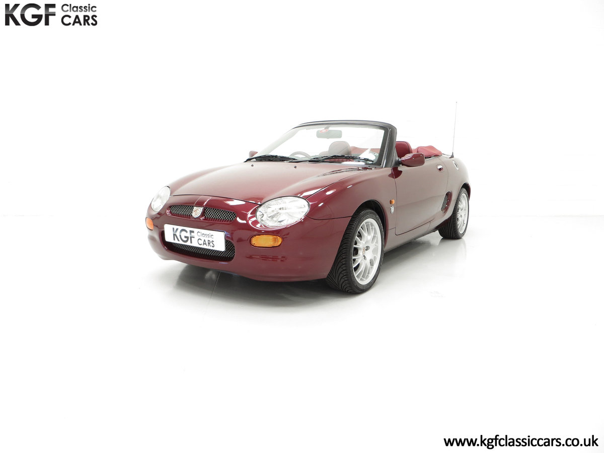1999 A Limited Edition Individually Numbered MGF 75th Anniversary SOLD (picture 2 of 6)