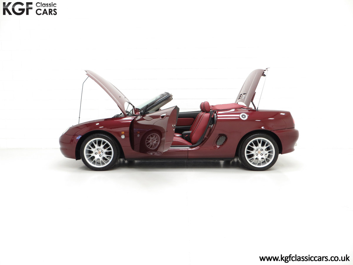 1999 A Limited Edition Individually Numbered MGF 75th Anniversary SOLD (picture 3 of 6)
