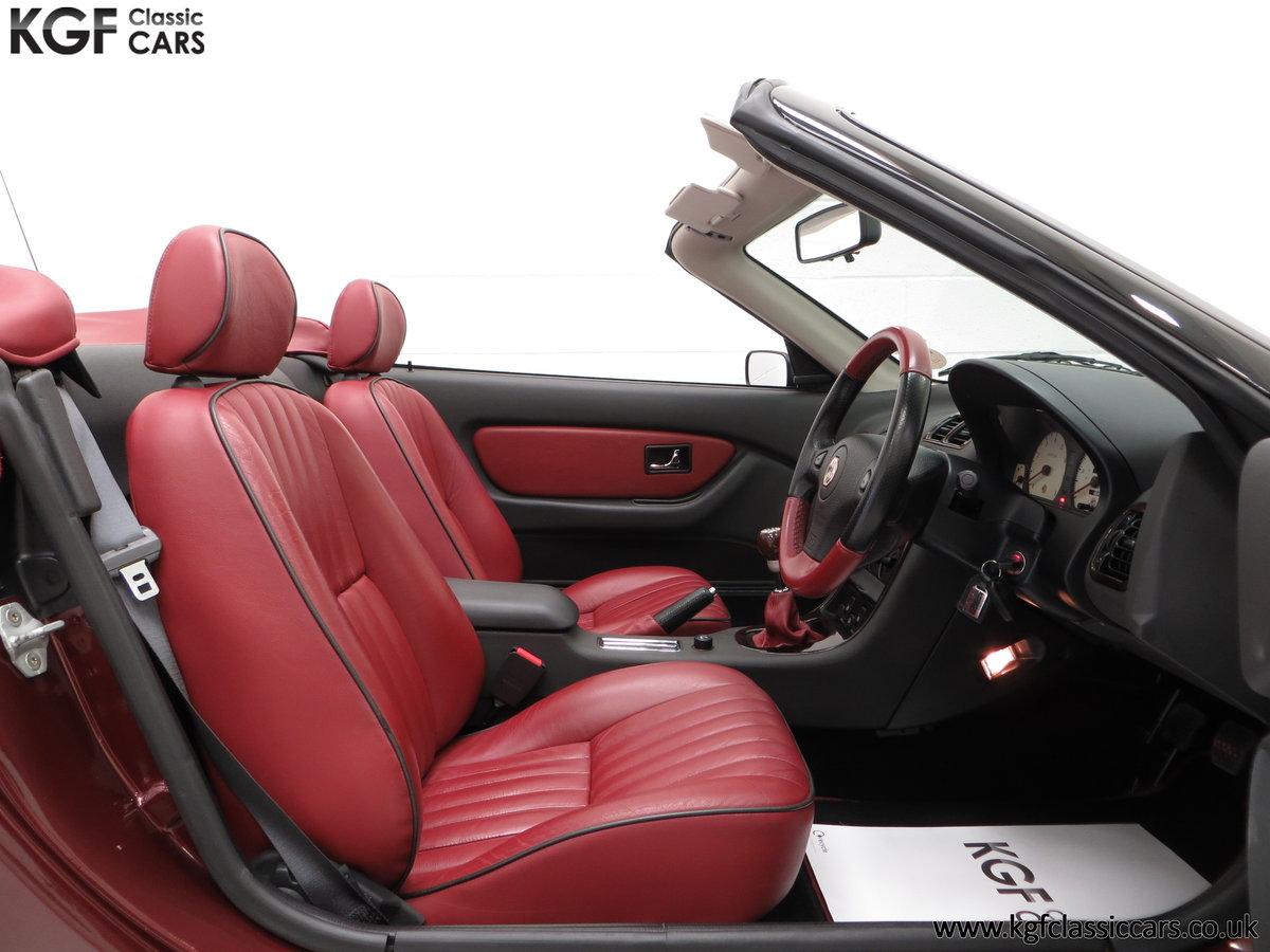 1999 A Limited Edition Individually Numbered MGF 75th Anniversary SOLD (picture 6 of 6)