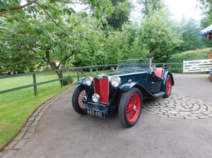 1937 MG TA For Sale by Auction