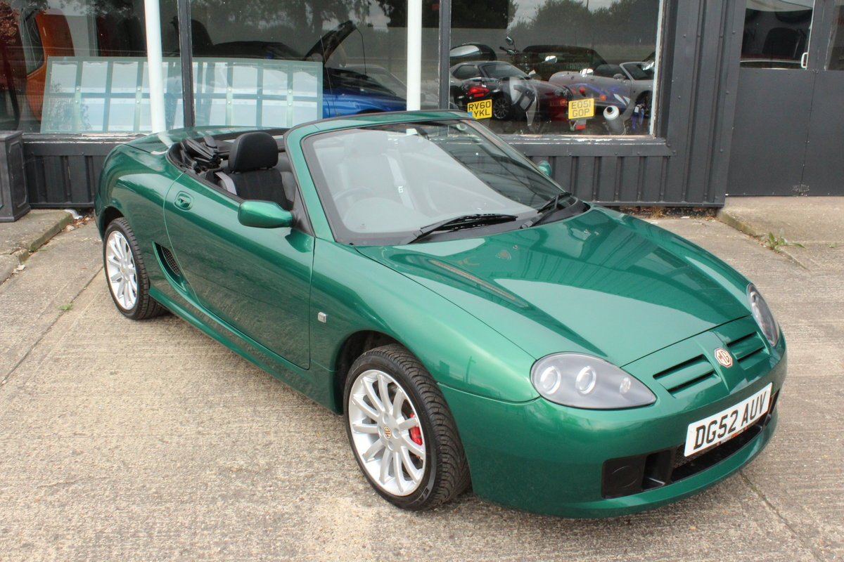 2002 MG TF 160,ONLY 20,000 MLS,NEW HEADGASKET,BELT&PUMP,WARRANTY For Sale (picture 1 of 6)