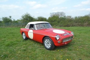 1964 MGB Roadster built to FIA spec  For Sale