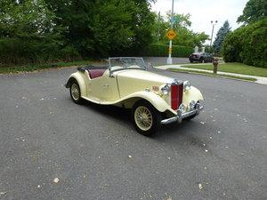 1953 MG TD Nicely Restored Very Presentable