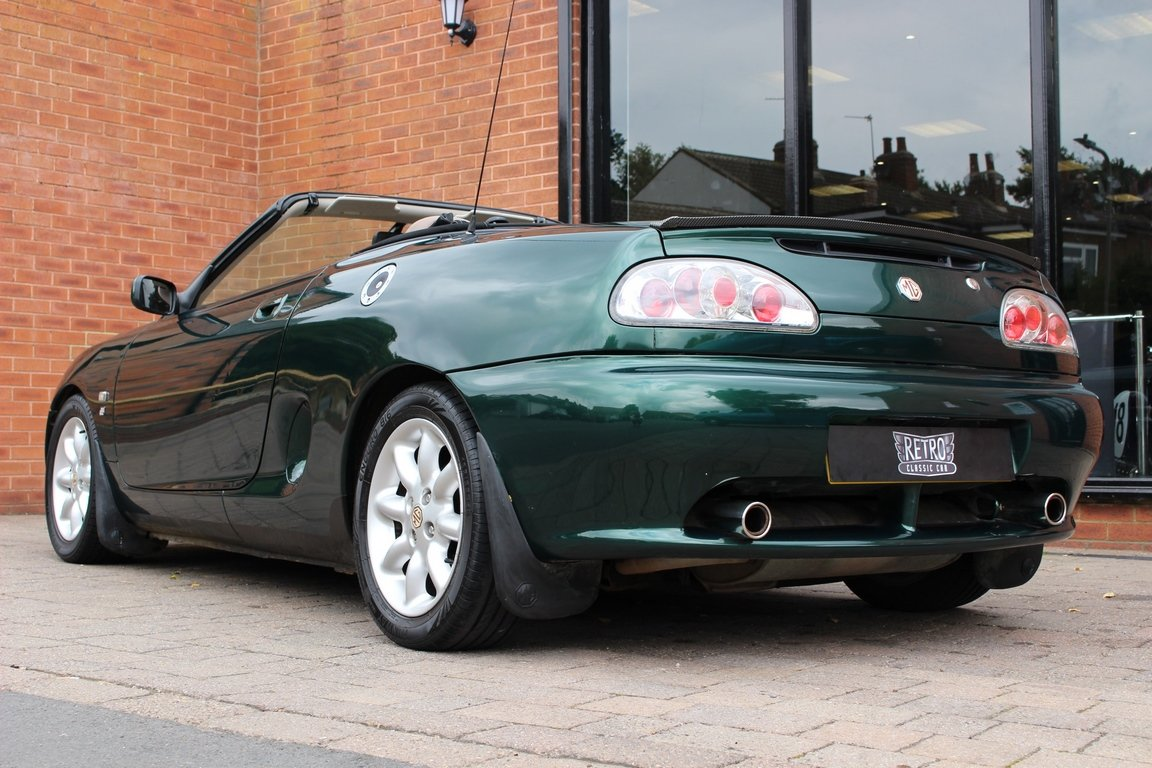2000 MGF 1800 - British Racing Green | Huge History File For Sale (picture 3 of 6)