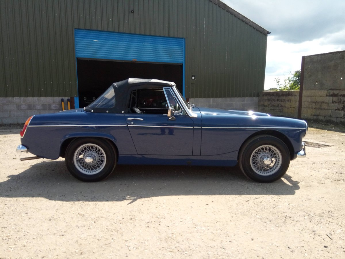 1969 MG Midget MKII - restored, beautiful condition SOLD (picture 2 of 6)