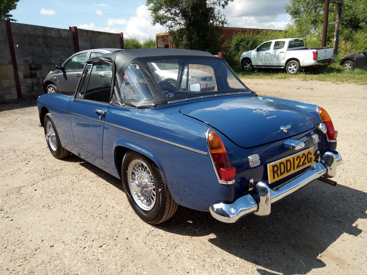 1969 MG Midget MKII - restored, beautiful condition SOLD (picture 4 of 6)