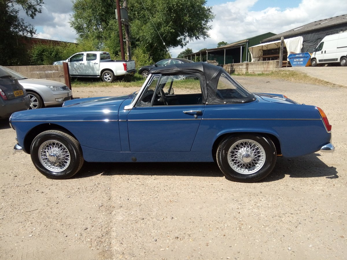 1969 MG Midget MKII - restored, beautiful condition SOLD (picture 5 of 6)