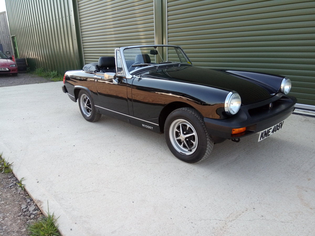1980 Mg Midget. Low Mileage. Astonishing condition For Sale (picture 1 of 6)