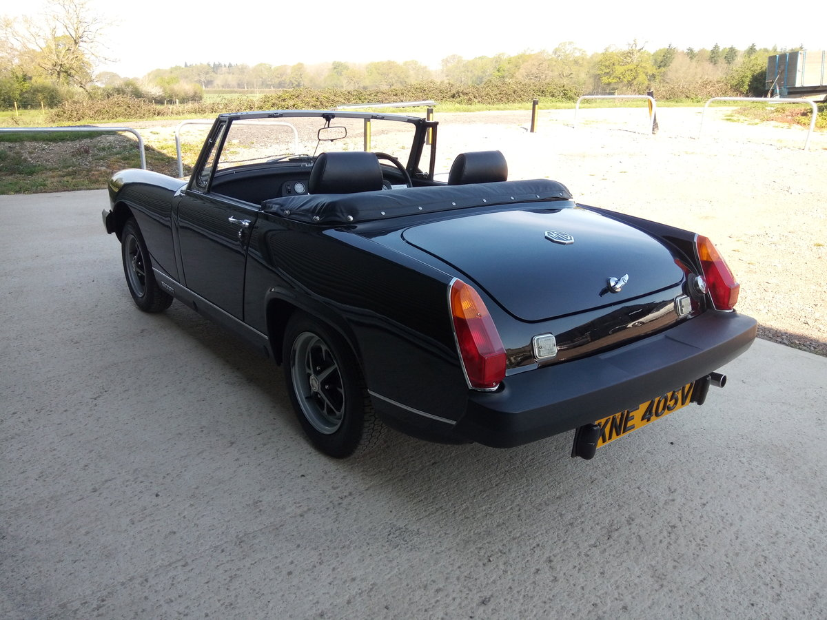 1980 Mg Midget. Low Mileage. Astonishing condition For Sale (picture 4 of 6)