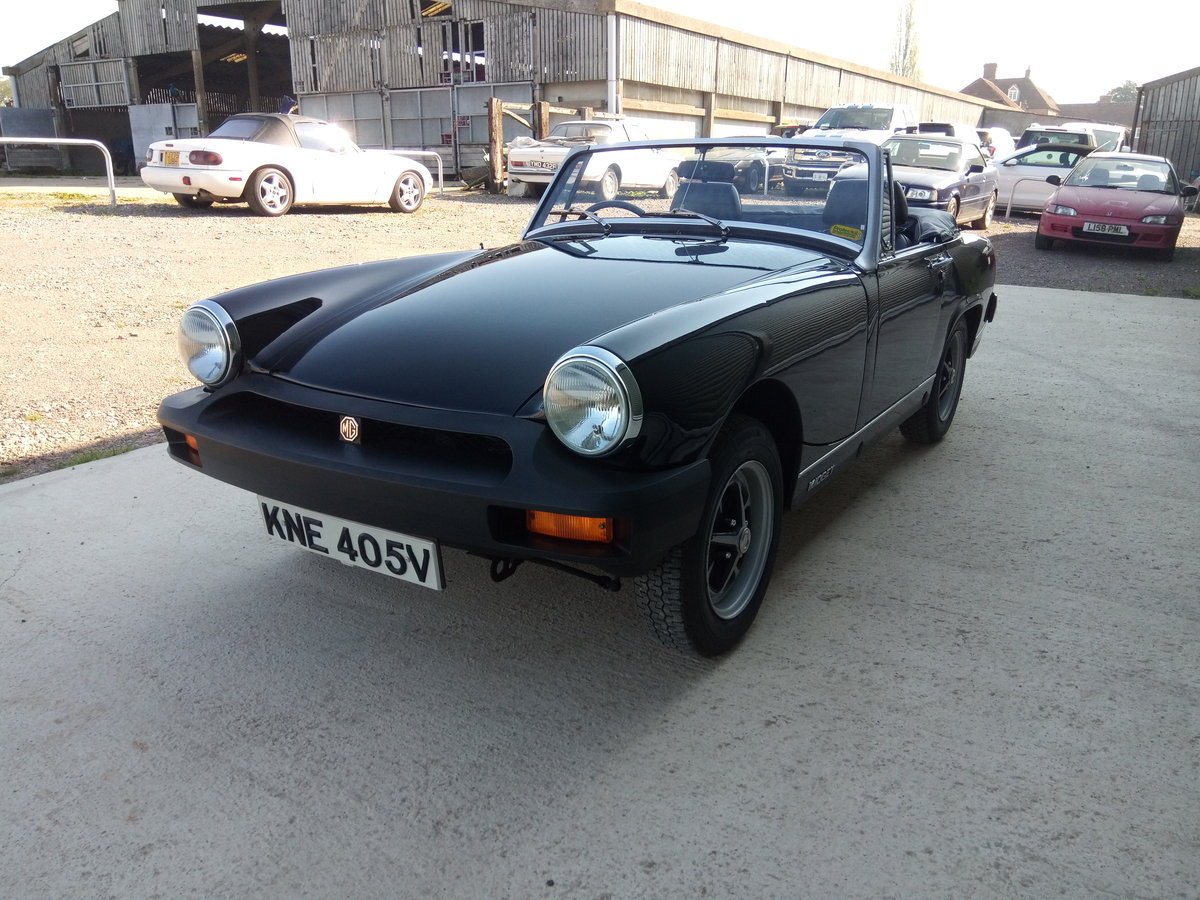1980 Mg Midget. Low Mileage. Astonishing condition For Sale (picture 5 of 6)