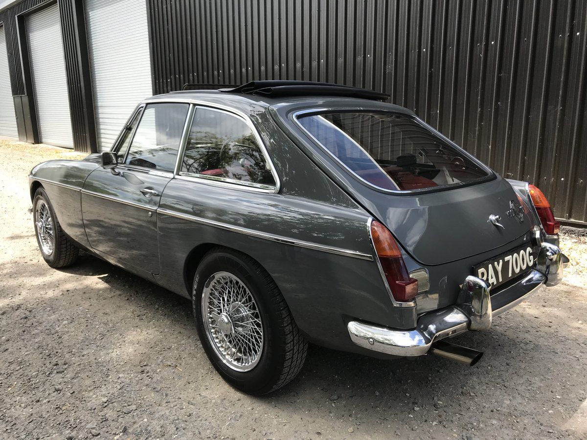 1968 MGC GT - Automatic - Only 61,000 miles from new For Sale (picture 4 of 6)