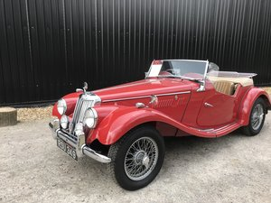 1954 MG TF with many extras - price adjusted For Sale
