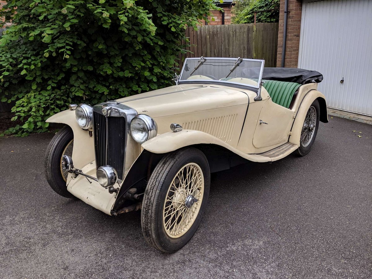 1938 MG TA Restoration Project UK Car V5 SOLD (picture 1 of 6)