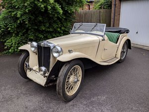 1938 MG TA Restoration Project UK Car V5 SOLD