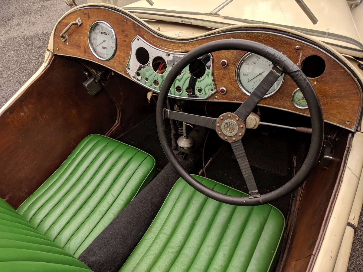1938 MG TA Restoration Project UK Car V5 SOLD (picture 2 of 6)